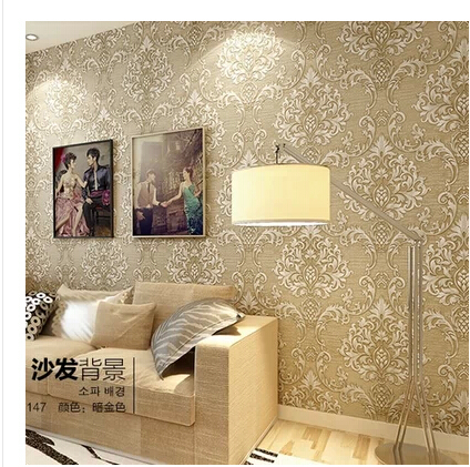 3d Wall Paper Luxury Wallpaper for Living Room Bedroom Home Decor Modern Photo tapete papel de parede Roll zxqz 65 3d pattern wallpaper luxury wall pater for living room for hall cheapest paper for the wall 2015 new arrival hot selling