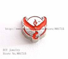 10pcs FC1467 game sign wholesale Enamel alloy beads charms lovely  float charms for float lockets
