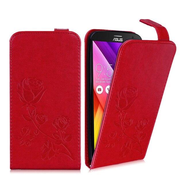 Phone Case for Asus Z00AD Z008D Zenfone 2 ZE550ML ZE551ML ZE550 ZE551 551ML Flip Phone Leather Cover for Asus_Z00AD 008D Bags