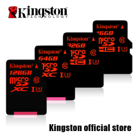Kingston MicroSDHC MicroSDXC Class 10 UHS I U3 Card 16GB 32GB 64GB