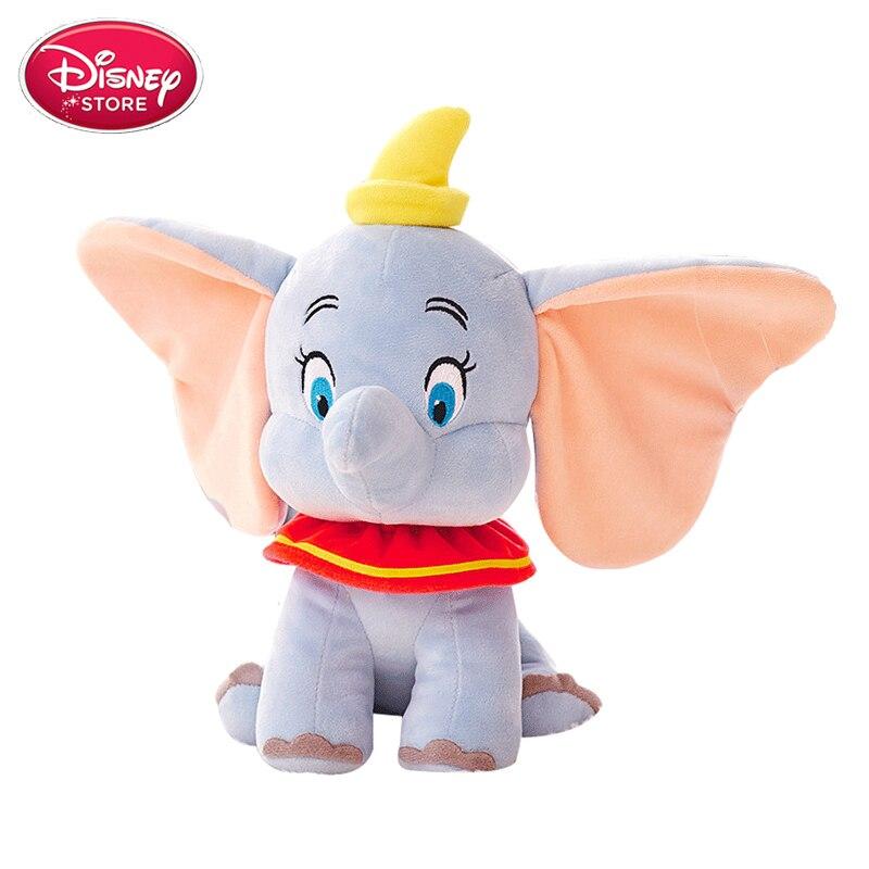 Genuine Disney Dumbo Plush Doll Toys Cartoon Anime Plush Elephant Stuffed Soft Toys For Baby Kids Birthday Gift Christmas