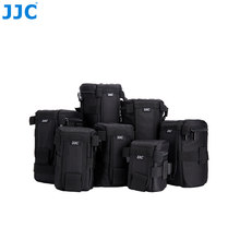 JJC Waterproof Deluxe Camera Lens Bag Pouch for Canon/Sony/Nikon/JBL Xtreme Polyester Soft Case SLR DSLR Box Photography Belt(China)