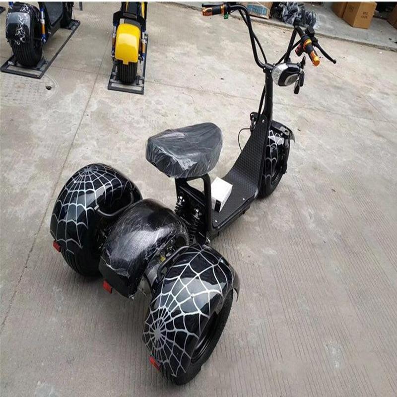 Moto électrique 60 V puissance maximale 1000 W voiture accessoires camping ville coco citycoco batterie au lithium Multi couleur