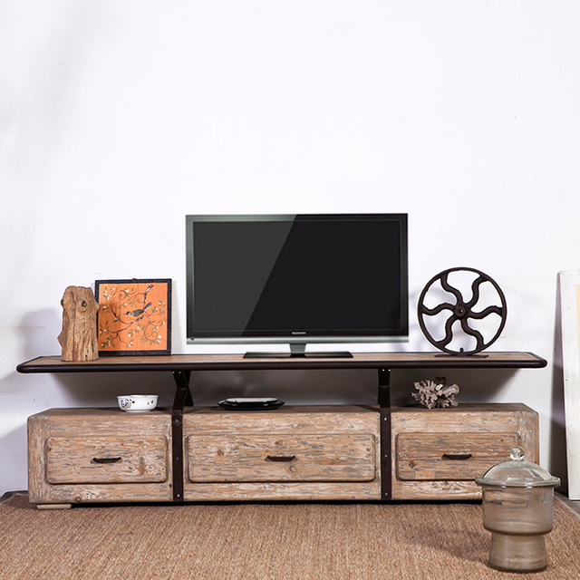 American Do The Old Retro Tv Cabinet Storage Cabinets Wood Shelving