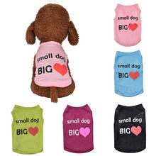Pet Vest Comfortable Fall Breathable Leisure Pet Small Dog Cat Thin Clothing dog summer clothes dog life vest safety jacket dog(China)