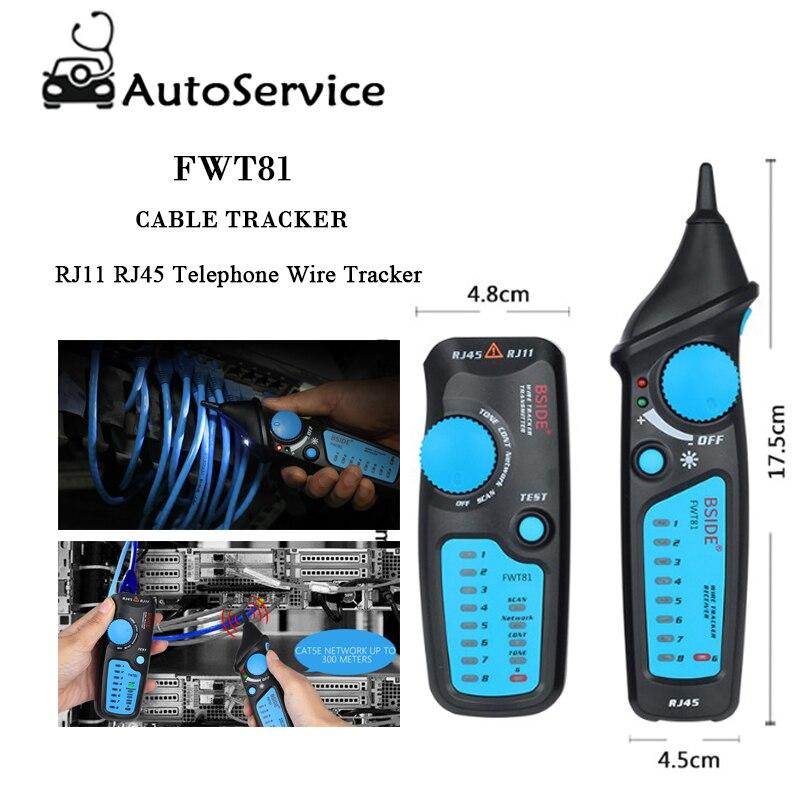 Trendmarkierung Hohe Qualität Circuit Breaker Finder Kabel Tracker Rj45 Rj11 Telefon Draht Netzwerk Lan Tv Elektrische Linie Detektor Finder Tester