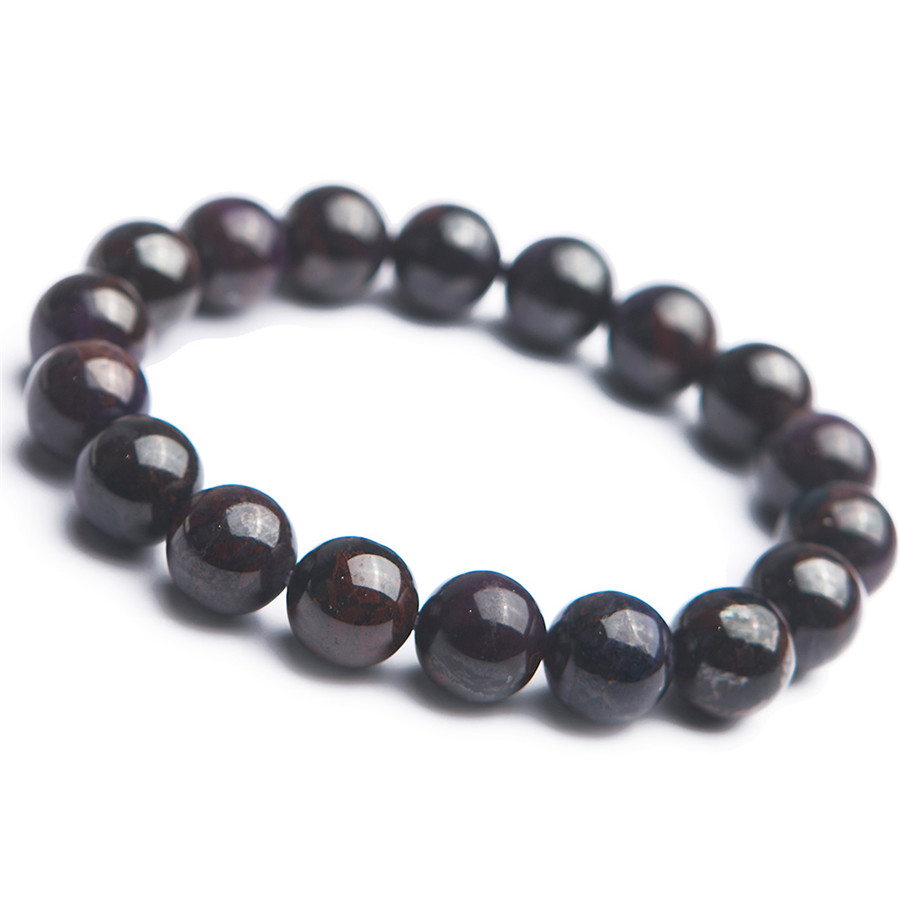 Genuine Natural  Sugilite Stone Round Bead Women Man Fashion Stretch Bracelet 11.5mmGenuine Natural  Sugilite Stone Round Bead Women Man Fashion Stretch Bracelet 11.5mm