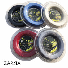 1 Reel  200M Genuine Brand ZARSIA Black Twist tennis String string,made in taiwan,Hexaspin twister polyester strings