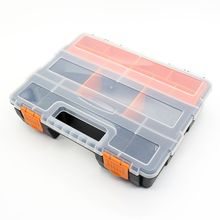 Big Toolbox Electronic Plastic Parts Combined Transparent Tool Box Casket Screw Containers Component Storage Case