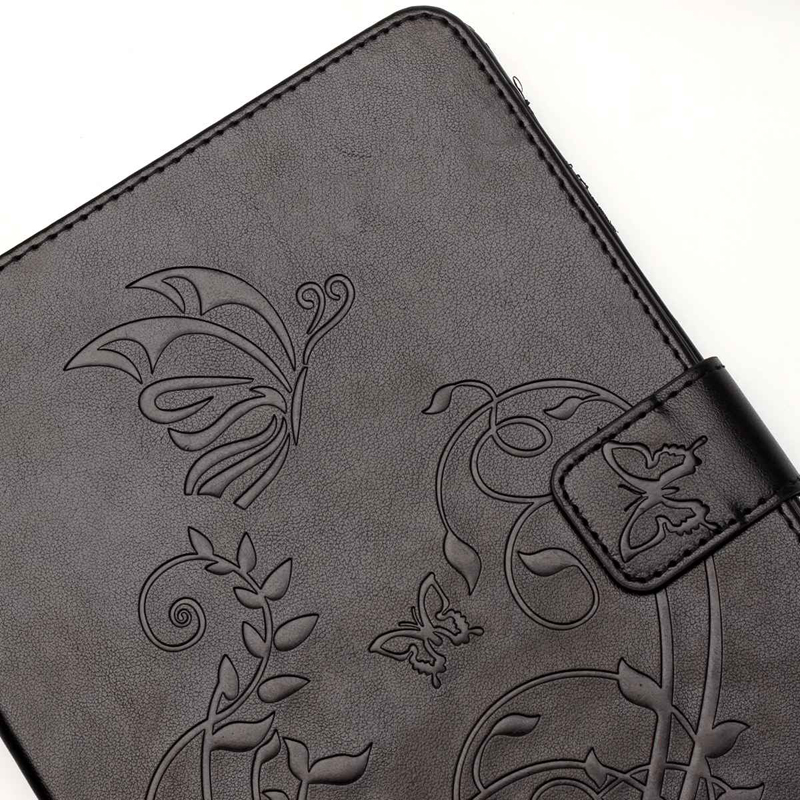 Tablet Funda For iPad mini 1 2 3 Fashion Butterfly Embossed Leather Magnetic Flip Wallet Case Cover 7 9 inch Coque Shell Stand in Tablets e Books Case from Computer Office