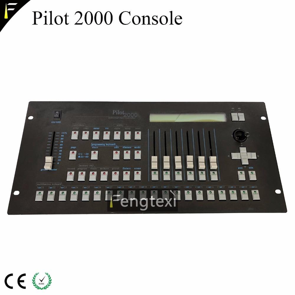 Lighting Mixer DMX512 Pilot 2000 Console Stage Lights Mixer Controller Pilot 2000 DJ Concert Light Dmx Console 192chs FreeShip