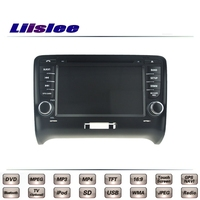 Dla Audi TT MK2 8J 2006 ~ 2014 Car Multimedia TV DVD Nawigacji GPS Radio Oryginalny Styl Liislee Zaawansowane Navi