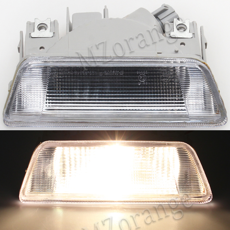 MZORANGE Car For nissan X-Trail XTrail T31 2008 2009 2010 2011 2012 2013 rear bumper fog lamp Reverse Brake Reflector Light car modification lamp fog lamps safety light h11 12v 55w suitable for mitsubishi triton l200 2009 2010 2011 2012 on