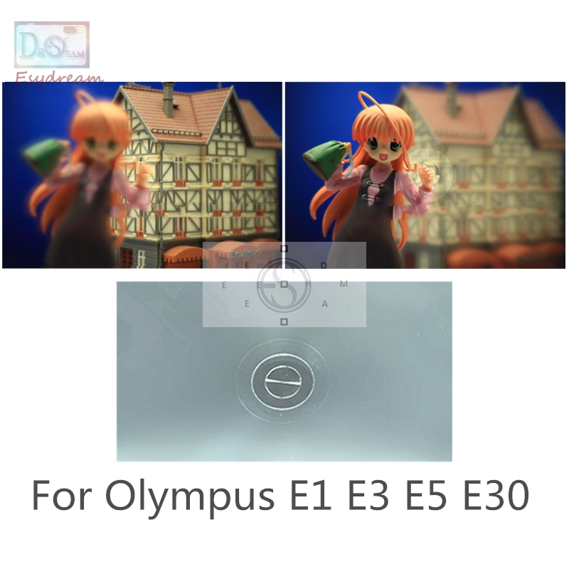 Single 180 degree Split Image Focus Focusing Screen For Olympus E3 E5 E30 E1 PR157