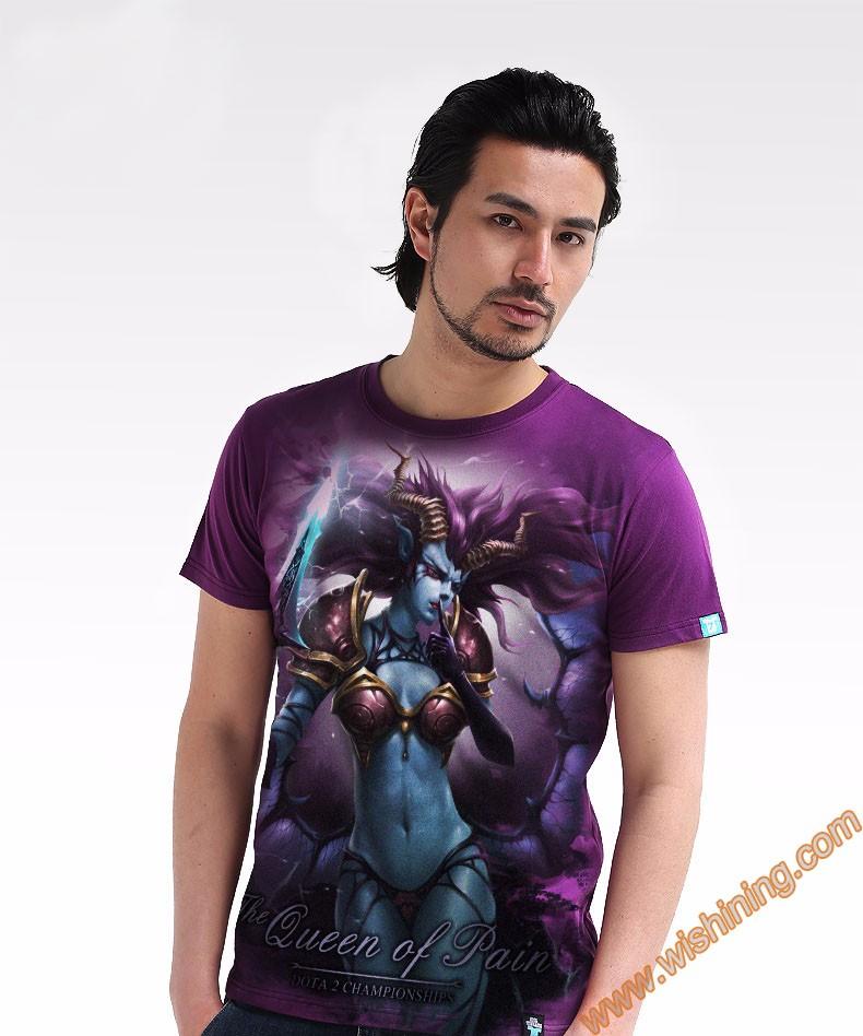 DOTA 2 Queen of Pain t-shirt Tee8801 (2)