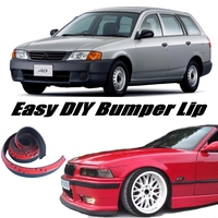 NOVOVISU Bumper Lip Deflector Lips For Nissan AD Van Y12 Front Spoiler Skirt For Car Tuning View / Body Kit / Strip