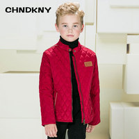 Boys Thin Plaid Coat 2018 New Brand Solid Boy Winter Jacket Kids Warm Jacket Winter Jackets for Boys
