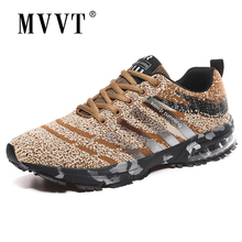 Cushioning Air Sole Running Shoes Men Sneakers Breathable Mesh Sport Metro Mixed Color Wlaking Plus Size 47