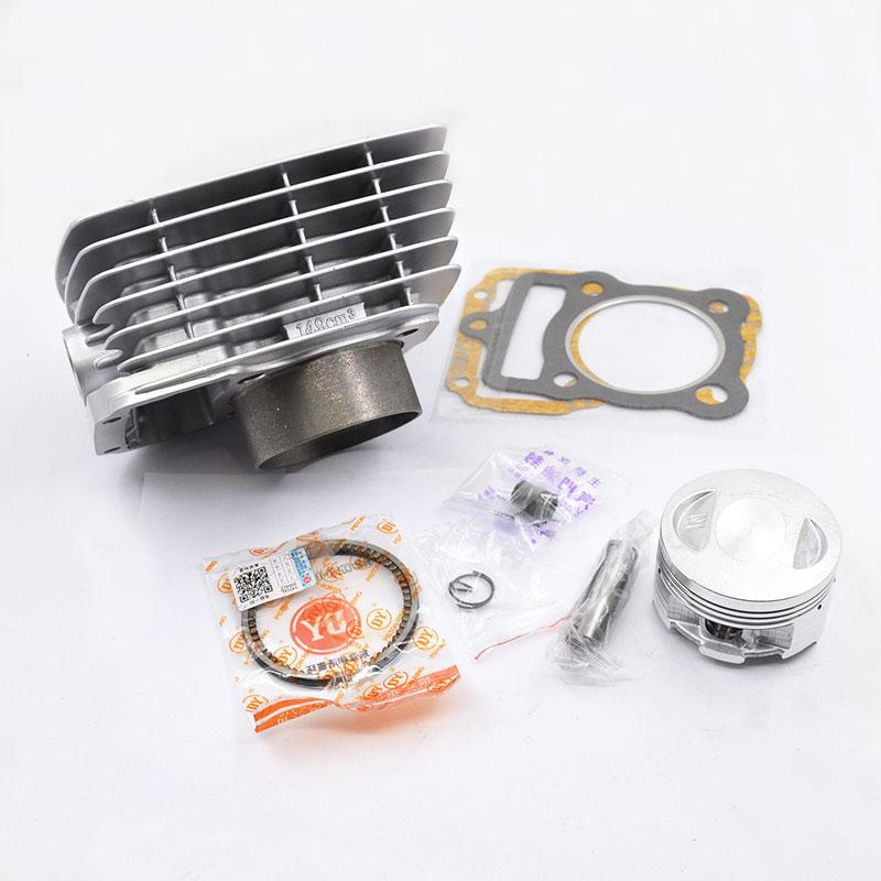 Moto Cylindre Piston Ring Joint Kit 15mm Broches Pour Honda XLR125 XLR125Y/1/ES1/2/ ES2 XLR 125 2000-2002 Big Bore Modification