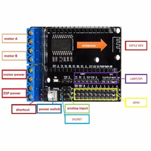 Image 5 - NodeMCU Devkit 2.0 CP2102 IIC SPI Basato su ESP8266 ESP 12 + 0.96 Serial IIC I2C Modulo Display OLED RCmall DIYmall