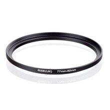 Oryginalny RISE (UK) 77mm 82mm 77 82mm 77 do 82 pierścień redukcyjny adapter do filtra czarny