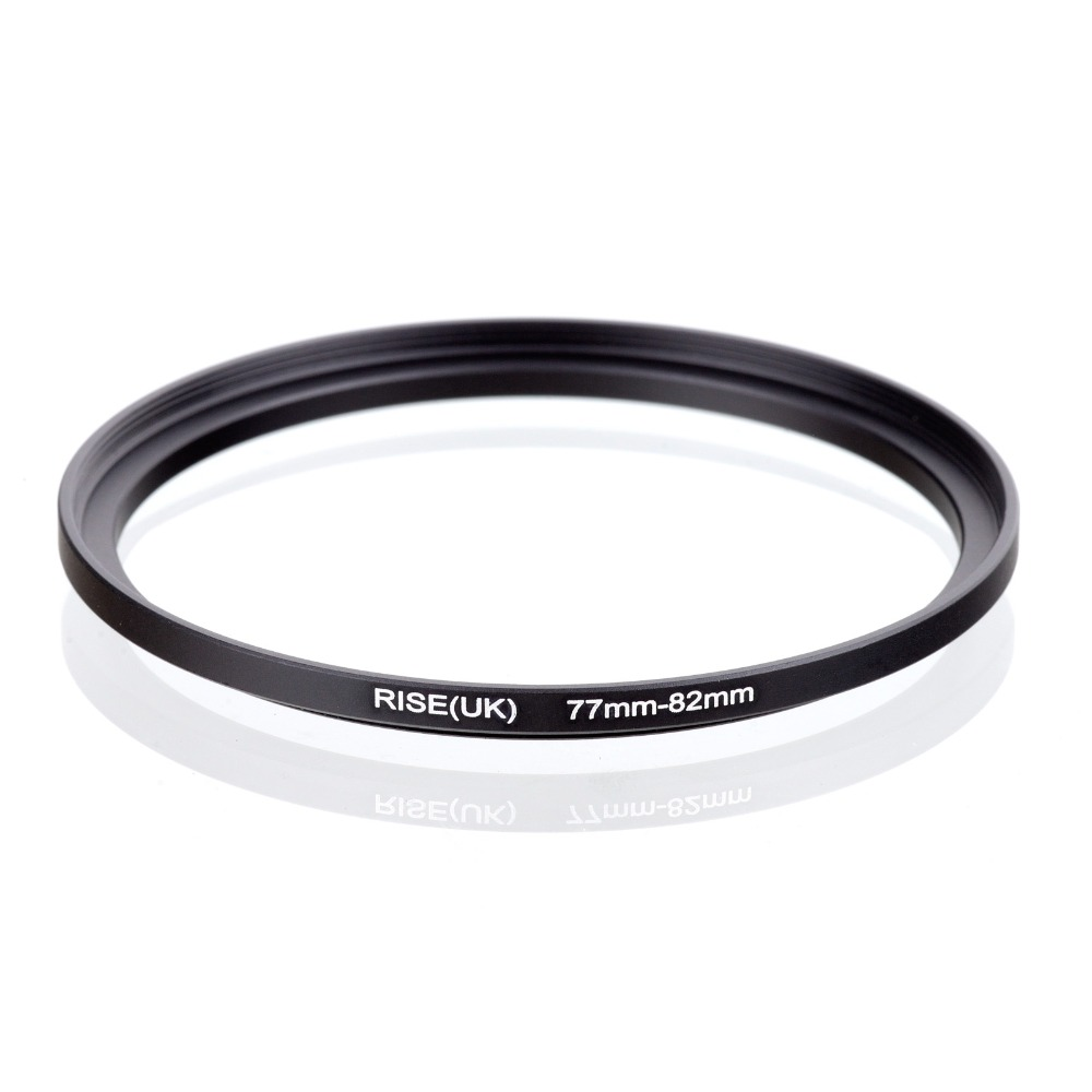 original RISE(UK) 77mm-82mm 77-82mm 77 to 82 Step Up Ring Filter Adapter black стоимость
