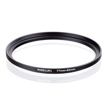 original RISE(UK) 77mm-82mm 77-82mm 77 to 82 Step Up Ring Filter Adapter black