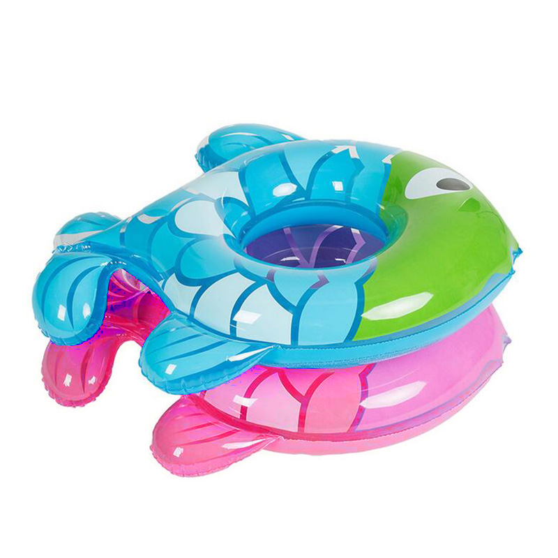 US $6.22 30% OFF|Baby Swimming Ring Inflatable Lap Swimming Pool Baby Swim  Float Rubber Ring Fish Kids Shape Swim Ring Safety Child Toy 1 5years-in ...