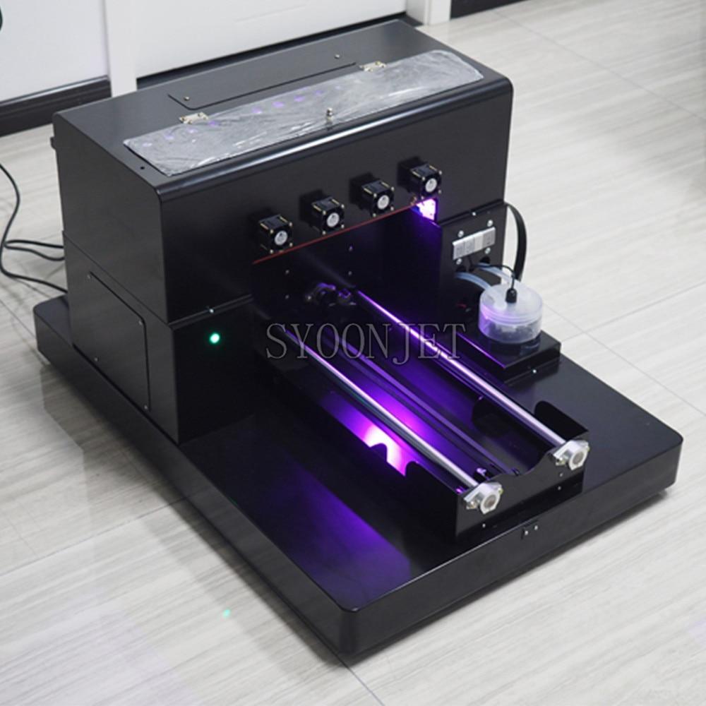 Fabbrica Uv Stampante A3 Uv Stampante Flatbed A3 per La Penna Cassa Del Telefono, Più Leggero, Tpu, Pvc, metallo, Legno, 3D Rilievo di Stampa - 2