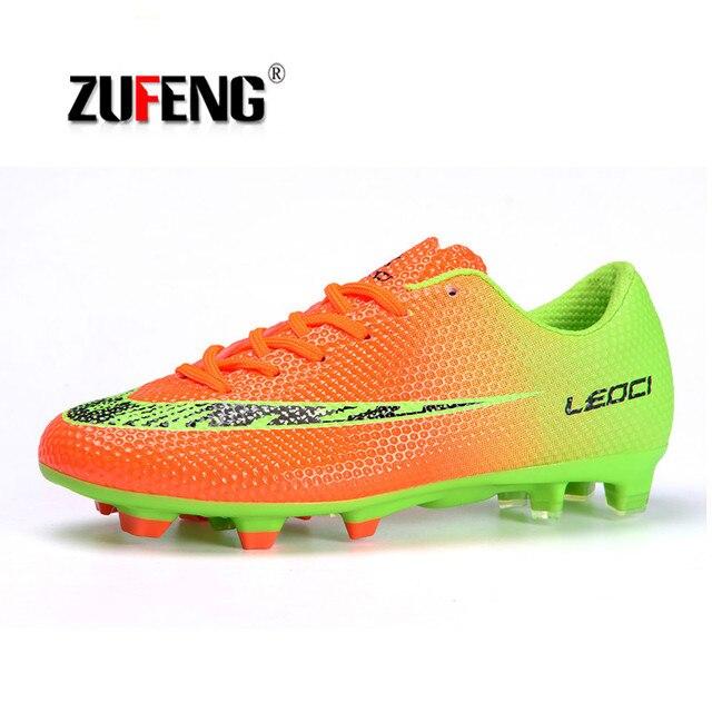Nuevo 2018 hombres niños FG fútbol tacos de fútbol botas de fútbol niños entrenamiento  botas de 9b9097a9ccb93