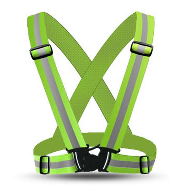 Reflective Safety Vest belt for pupil kids child  pupil Security Reflective waistcoat belt  for outdoor running jogging maritime safety