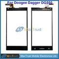 "De Calidad superior 5.5 ""Para Doogee Daga DG550 Reemplazo Del Sensor Del Panel Táctil Digitalizador de Vidrio Frontal de Color Negro El Envío Libre"
