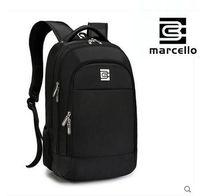 MARCELLO Men S Laptop Backpack Swiss Style Mochilas Waterproof 15 6 Inch Rucksacks Notebook Travel Backpack