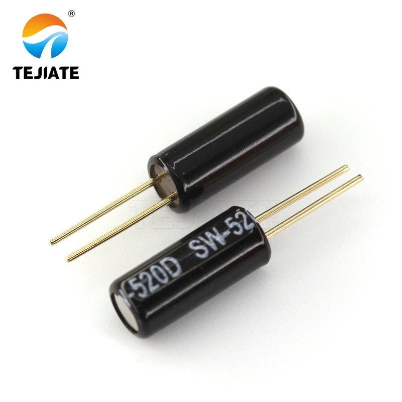 10pcs SW-520D Metal Ball Tilt Shaking Position Switches