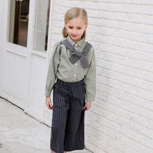 Осенний наряд для девочек candydoll штаны с широкими штанинами