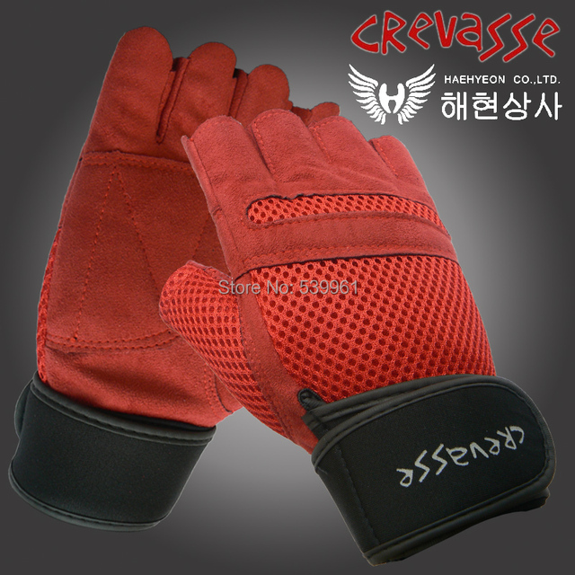 Gym BodyBuilding Men Training Fitness Gloves Weight lifting Workout Exercise breathable Wrist Wrap guantes tactical gloves