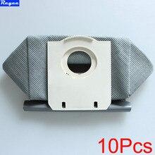 10 шт. моющиеся мешки для пылесоса мешка для сбора пыли Замена для Philips fc8134 fc8613 fc8614 fc8220 fc8222 fc8224 fc8200 Бесплатная Post