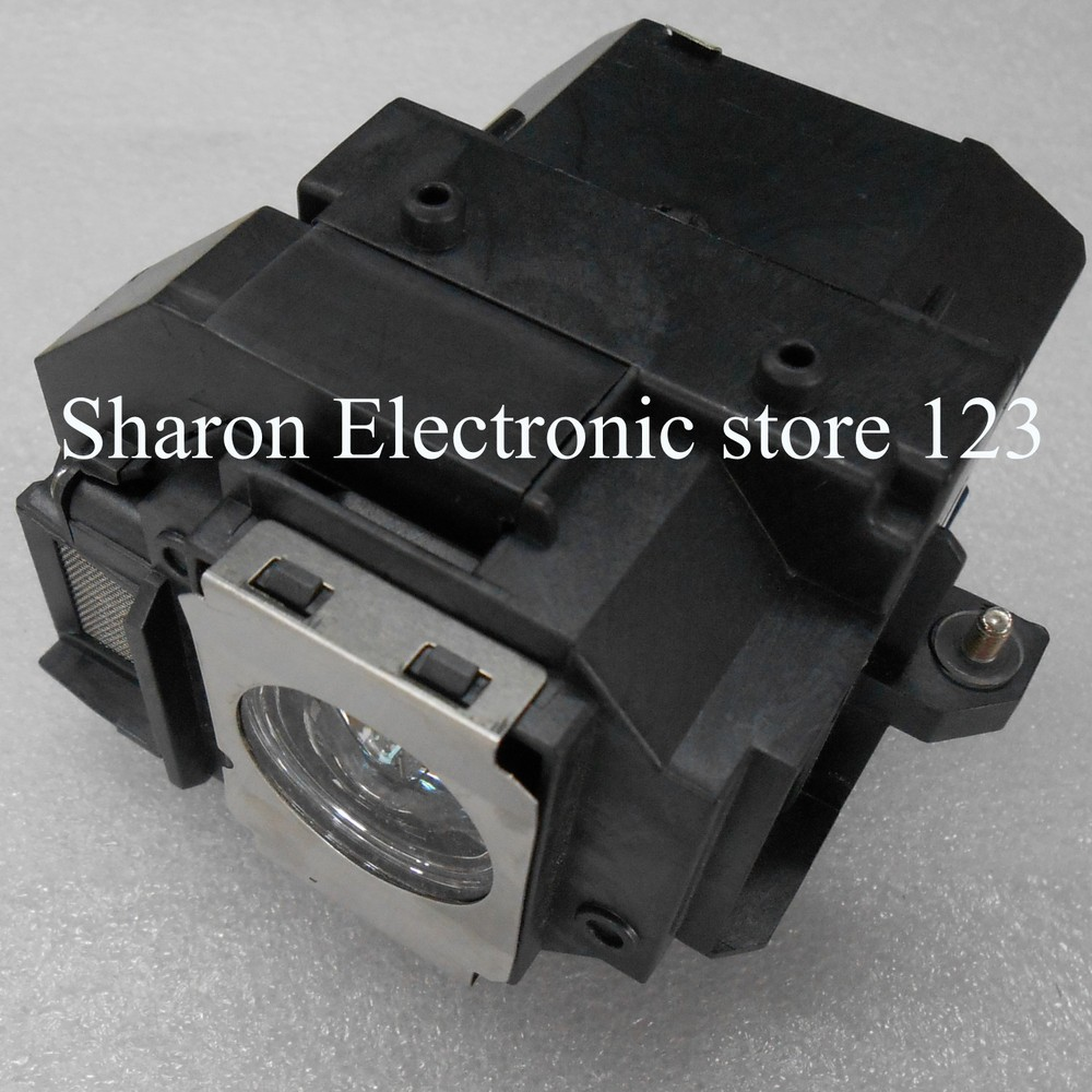 Projector lamp With Housing ELPLP58 for Epson EB-S9 EB-S92 EB-W10 EB-W9 EB-X10 EB-X9 EB-X92 EB-S10 EX3200  EX5200 EX7200 projector lamp with housing elplp77 for eb 1970w eb 1975w eb 1980wu eb 1985wu eb 4550 eb 4650 eb 4750w eb 4850wu eb 4950wu