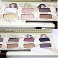 Hot 12 Cores Matte Shimmer Eyeshadow Palette com escova Kit de Maquiagem Profissional