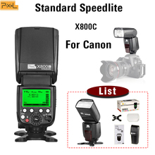 Pixel X800C TTL Flash Speedlite For Canon  Standard Hot shoe Wireless 70D 60D 50D 350D 300D 1000D 1100D 5D2 1D