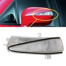 цена на Left/Right Side Rearview Mirror LED Turn Signal Flasher Light For Honda Civic FA1 2006-2011