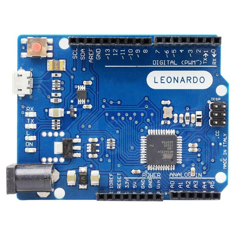 2012 Official Leonardo R3 MCU Board ATmega32u4 Board with Ors