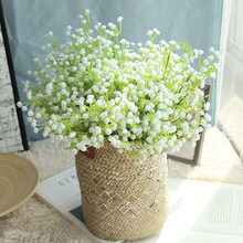 Wedding bouquets flowers starry bouquet artificial home decoration road  wall Gypsophila fake