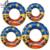 Piscina Inflable de Dibujos Animados Lindo al por menor Flota Flota Barco juguetes de Natación Niños Niño buñuelo del Anillo de la Nadada Del Juguete Del Agua Del Verano