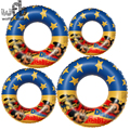 Retail Pool Inflatable Cute Cartoon Floats toys Swimming  Kids Child Floats Boat donut Swim Ring Summer Water Toy