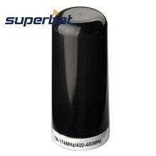 Superbat NMO dwupasmowa antena radia samochodowego do montażu na wymień wstępnie dostrojony VHF UHF 136 174MHz 400 480Mhz na samochód mobilny 2 Way Radio