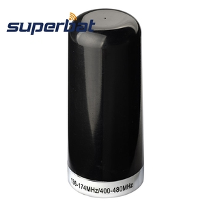 Image 1 - Superbat nmoデュアルバンドアンテナ車移動無線マウント交換事前調整vhf uhf 136 174mhz 400 480用車の携帯2双方向ラジオ
