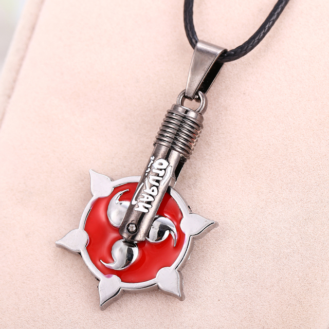 2015 new anime naruto three magatama pendant necklace write round 2015 new anime naruto three magatama pendant necklace write round eyes high quality stainless steel necklace mozeypictures Image collections