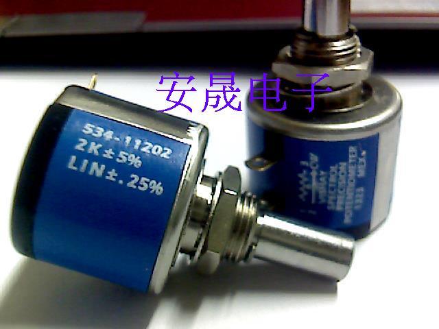 Nouveau 100% spectrol MOD534-11202 2K multi tour 10 boucle potentiomètre (commutateur)