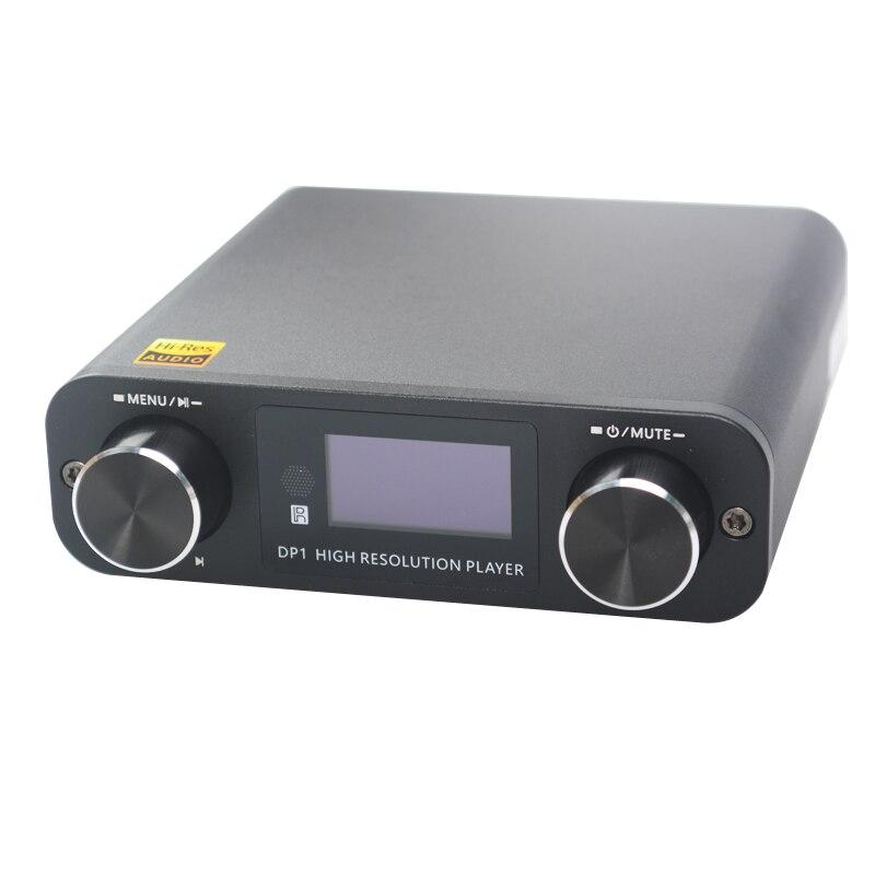 Smsl Dp1 Hifi Verlustfreie Player Ak4452 Audio Usb Dac Decodierung Digitales Plattenspieler Verstärker Sd-karte/optische/usb-eingang Dc9v Desktop Digitaler Musik-player
